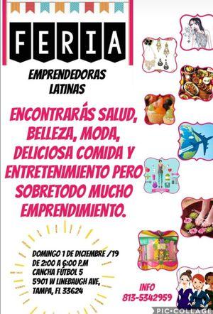 Feria emprendedoras latinas for Sale in Tampa, FL