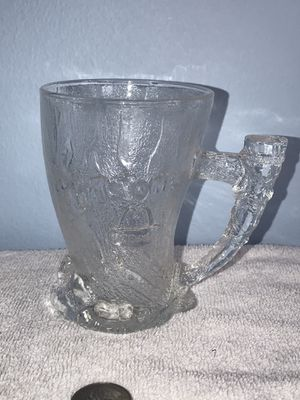 Vintage collectible McDonald's Flintstones glass cup for Sale in Mount Prospect, IL