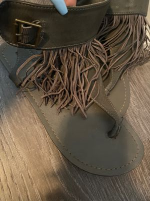 Fringe Sandals size 7 for Sale in Philadelphia, PA
