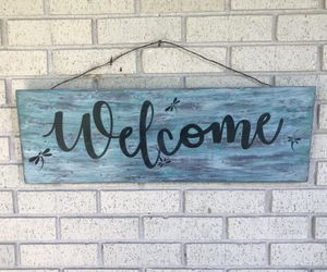 Home Decor/Welcome Sign for Sale in Austin, TX