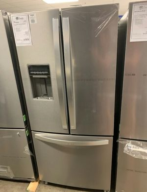 "New Whirlpool Stainless 30"" French Door Refrigerator!1 Year Manufacturer Warranty Included! for Sale in Gilbert, AZ"