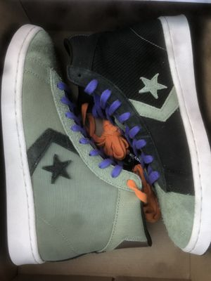 Converse Black History Month size 8 men's for Sale in Glendale Heights, IL