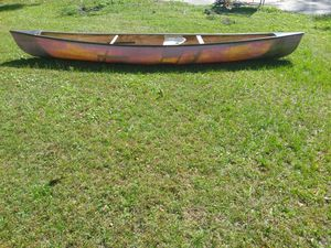 12 ft. 1 person canoe. No holes. Good shape. for Sale in Plant City, FL