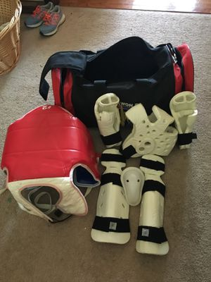 Karate pads and duffle/sparing gear for Sale in Kernersville, NC