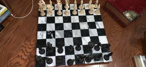 Antique marble chess set for Sale in Rockville, MD