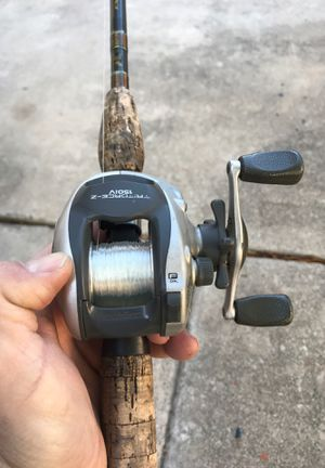 Baitcaster fishing reel and rod combo for Sale in San Antonio, TX