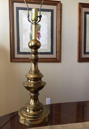 Stiffel table lamps brass 70s retro farm house for Sale in Greenville, SC