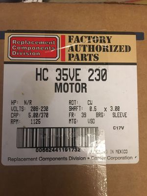 AC Condenser Fan Motor for Sale in Tracy, CA