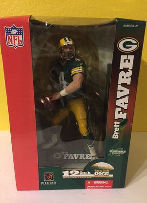 "NFL Brett Fabre 12"" Action Figure Series One for Sale in Austin, TX"