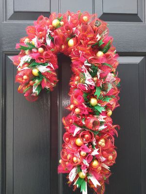 Handmade holiday wreath for Sale in Franklinton, NC