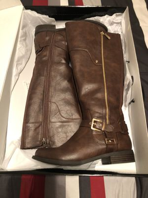 Brown Boots By Guess Size 8 for Sale in Roseville, CA