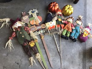 Fall/Thanksgiving outdoor decor for Sale in Los Angeles, CA