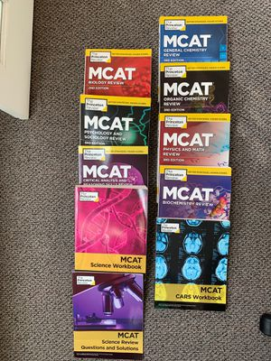 Used - 2nd Edition Princeton Review MCAT Prep Books for Sale in Berkeley, CA