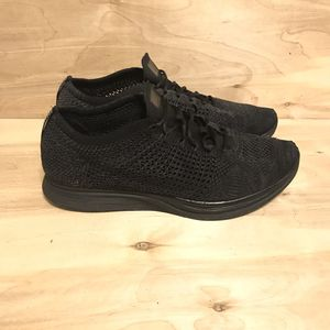 Nike Flyknit Racer Triple Black Size 12.5 for Sale in Fullerton, CA