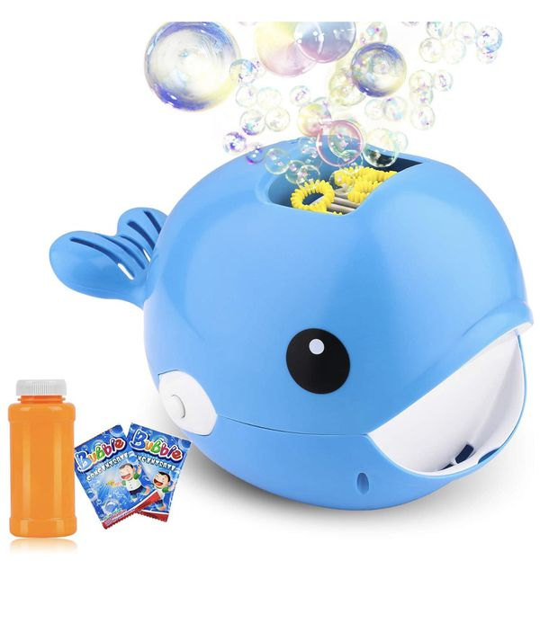 Bubble Machine, Automatic Bubble Blower, Bubble Maker More Than 2000 Per Minute Bubble Machine for Kids, Easy to Use for Parties, Wedding, Indoor and