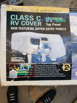 RV COVER 20-23 foot with zippers for Sale in Fontana, CA