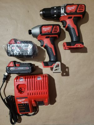 MILWAUKEE M18 HAMMER DRILL KIT for Sale in Greenville, SC