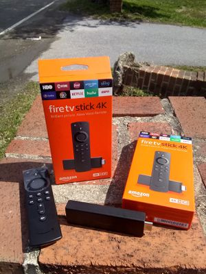 TWO FULLY LOADED AMAZON 4K FIRE TV STICKS FOR $150!!! for Sale in Upper Marlboro, MD