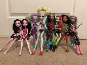 Monster high dolls for Sale in Glendale, AZ