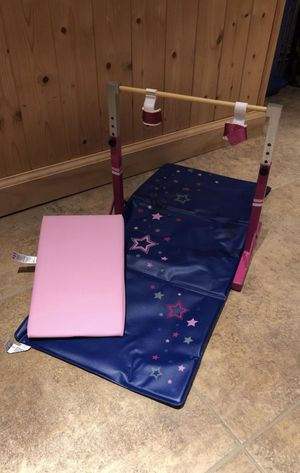 American Girl Doll Gymnastics set- mat, bar, beam for Sale in Englishtown, NJ