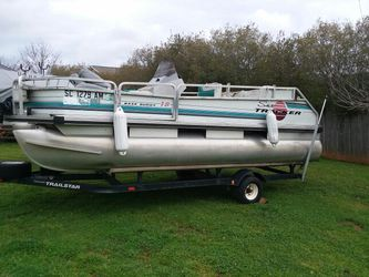 Pontoon Boat FS / TRADE for Sale in Moore,  SC