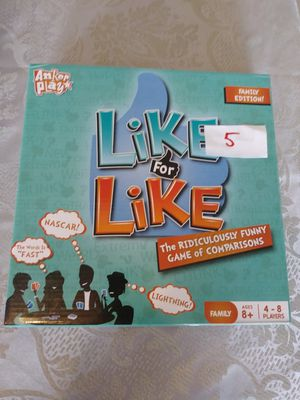 Family board game. Like for Like for Sale in Fort Myers, FL