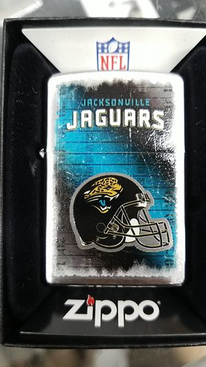 Zippo NFL Jaguars brushed chrome 28211 for Sale in Los Angeles, CA