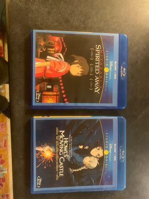 Studio Ghibli Blu-Rays for Sale in Lynnwood, WA