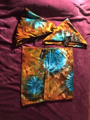 Brightly Twisted Tie Dye pillow cases- set of 3 for Sale in Auburn Hills, MI