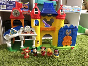Fisher price little people Disneyland theme park set for Sale in Goodyear, AZ