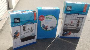 Bird cages 20 each or 3 for 50 for Sale in Fresno, CA