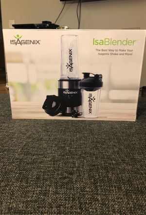 IsaBlender by IsaGenix (shaker included!) for Sale in Chicago, IL