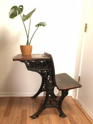 Antique Iron School Desk for Sale in Seattle, WA