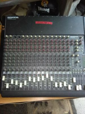 MACKIE MIXER 16 CHANNEL for Sale in Tampa, FL