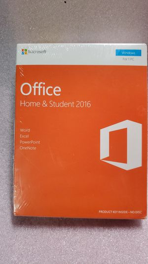 Microsoft Office 2016 for Sale in Long Beach, CA