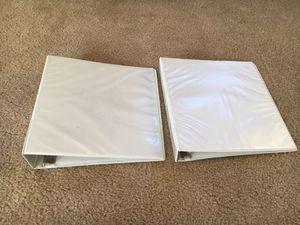 "Two binders (1.2"" & 2"") w/ Dividers for Sale in Manassas, VA"