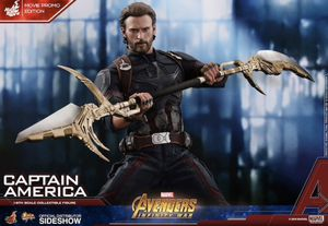 Captain America Movie Promo Edition Sixth Scale Figure by Hot Toys for Sale in San Antonio, TX