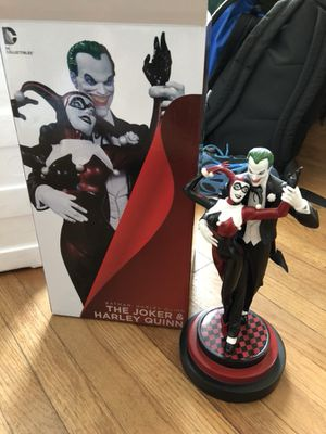 Batman: The Joker & Harley Quinn DC Collectibles Statue for Sale in Burbank, CA