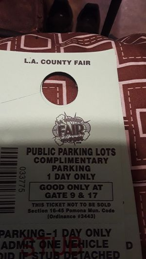 La Fair parking for Sale in Ontario, CA