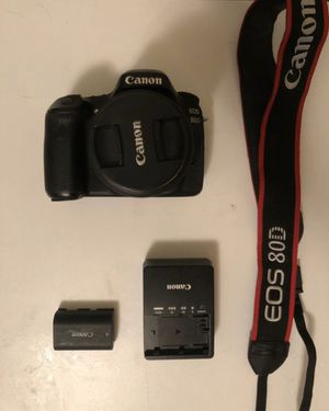 Canon EOS 80D / EFS 18-55mm lens for Sale in Berkeley, CA