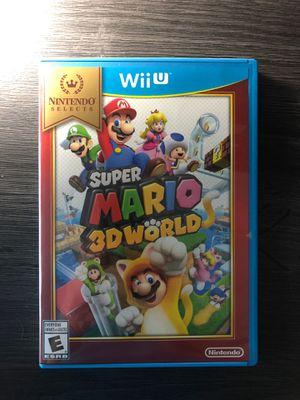 (Wii U) Super Mario 3D World Wii U Nintendo for Sale in Grand Prairie, TX