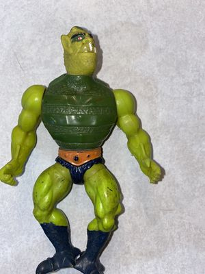 Vintage 1984 Masters of The Universe He-Man Whiplash action Figure for Sale in Sheridan, OR
