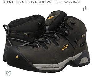 Keen utility men's Detroit xt mid soft water proof work boots for Sale in Fieldsboro, NJ