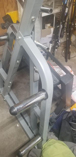 Bench/squat press and dumbbells for Sale in Raleigh, NC