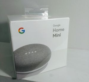 "Google Mini ""' sealed""- Google Personal Assistant - Chalk Color for Sale in Glendale Heights, IL"