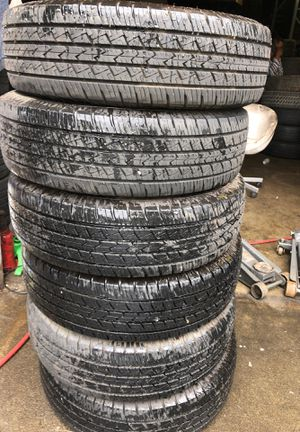 6x LT225/75R16 GT RADIAL SAVERO HT2 for Sale in Lakewood, WA
