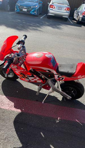 razor mini motorcycle pocket rocket for Sale in Alameda, CA