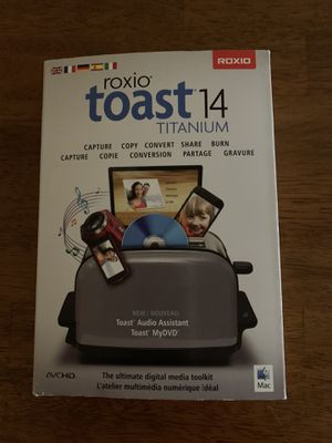 Roxio Toast 14 Titanium for Sale in Burbank, CA