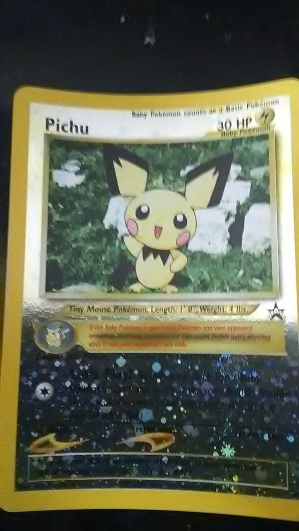 Pokemon card Pichu