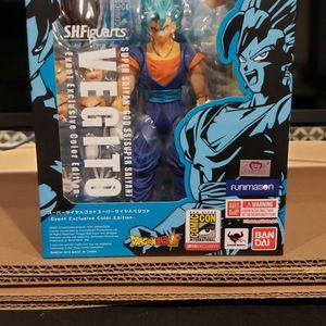 S.H. Figuarts DragonBall Z Super Saiyan God Super Saiyan Vegito SDCC 2018 Event Exclusive Color Edition for Sale in Nampa, ID